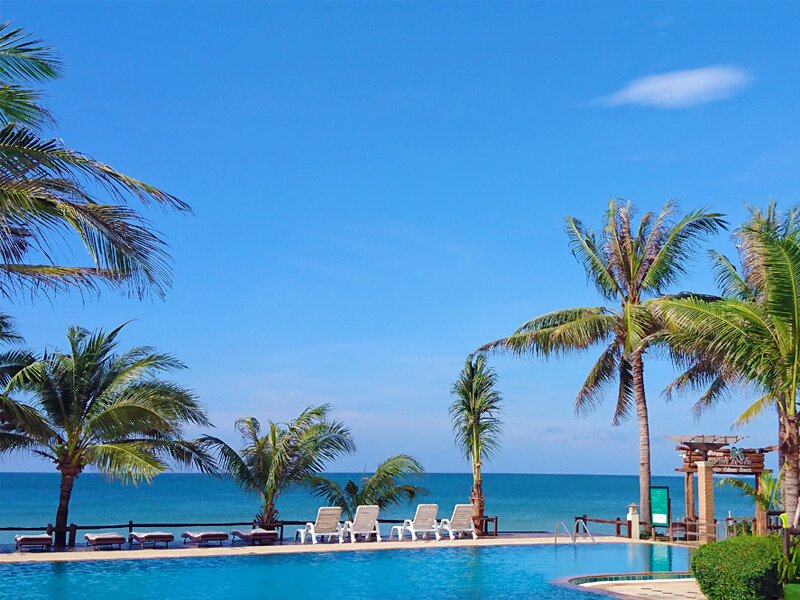 Chaolao Cabana Resort : Beach Front